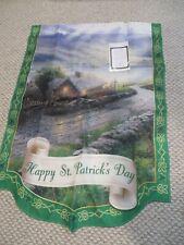 New ListingThomas Kinkade Year of Glad Tidings Flag Collection Happy St. Patricks Day