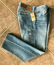 Polo Ralph Lauren Mens Jeans 34 x 32 Thompson Relaxed Fit Warp Stretch NWT