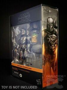 DEFLECTOR DC® DISPLAY CASE: Star Wars Black Series Din Djarin Mandalorian Child