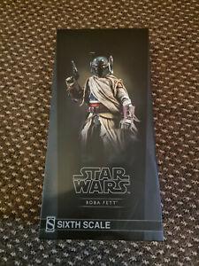 Sideshow Boba Fett Mythos Star Wars 1/6 Scale Figure brand new not sealed