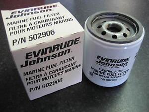 Evinrude,Johnson,OMC BRP Fuel Water Seperator Filter Outboard E-TEC Ficht