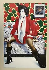 MEMPHIS RED,DESIGNED BY SYD BRAK,RARE AUTHENTIC 1986 POSTER, LAST ONE!