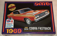 AMT 1969 Ford Torino Cobra Fastback 1:25 scale model car kit 1217