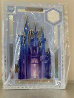 Disney Cinderella Castle Jumbo Pin 1/10 Limited Edition Castle Collection RARE!