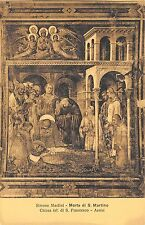 BF34896 simone martini morte di s artino assisi   painting  art front/back scan