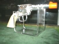 Acrylic Wall Mount Military Flintlock PERCUSSION pistol firearms display stand