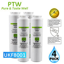 PTW Maytag UKF8001 EDR4RXD1 Replacement For Refrigerator Water Filter 4 Pack