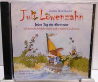 Juli Löwenzahn + Hörbuch auf CD + Jeder Tag ein Abenteuer + 7 tolle Geschichten
