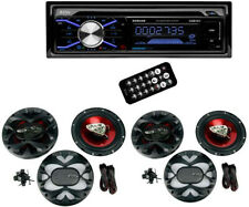 Boss 508UAB Dash CD Player USB/ MP3 Receiver Bluetooth With 4 6.5-Inch Speakers