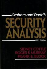 Security Analysis by Graham and Dodd Fifth Edition Hardcover