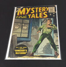 ☆☆ Mystery Tales #34 ☆☆ ( 1955 Atlas / Marvel ) (with Free Bag and Board)