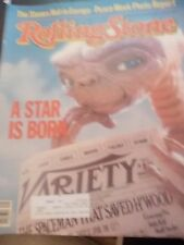 E.T., Rolling Stones, Steven Spielberg - Rolling Stone Magazine 1982