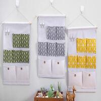 7 Pockets Hanging Storage Bag Wall Door Bathroom Bedroom Organizer Bags Holder