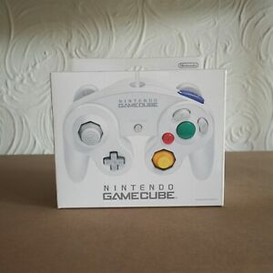 Nintendo Official Gamecube GC Wii WHITE Controller Pad Japan New Rare