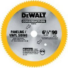 """Dewalt, DW9153, 6-1/2"""", 90 Teeth, Vinyl/Paneling Steel Circular Saw Blade"""