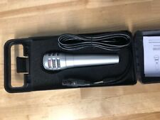 Tectron Professional Dynamic Microphone with Case,10 foot cord