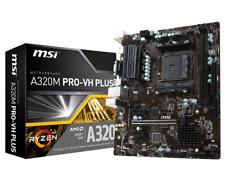 MSI A320M PRO-VH Plus - MATX Carte mère pour AMD prise AM4 processeurs