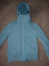 Superdry the windbomber turquoise blue coat, anorak. Size M medium