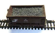 3,20 €/KG) - 500 gr Schüttgut für Güterwagen - 1-2 mm antrazith, echte Steine