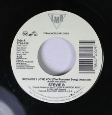 Soul 45 Stevie B - Because I Love You / Because I Love You On Lmr