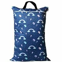 Waterproof Double Zip Large Wet Bag Unicorn 40x70cm