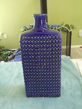 "Large 16"" Cobalt Blue Hobnail Vase * New * Modern Farmhouse"