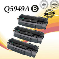 3PK Q5949A 49A Toner Cartridge For HP LaserJet 1320 3390 1160 3392 1320n 1160Le