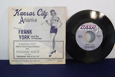 Frank York, Kansas City / Missouri Waltz,Dash D-45M-1961 Jazz/Sports Memorabilia