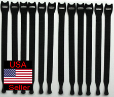 VELCRO ® Brand ONE-WRAP Thin Ties Cable Cord Organizer Reusable Straps - 12 Pcs.