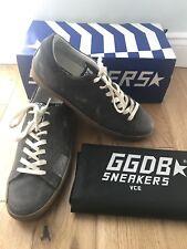 Golden Goose Unisex Superstar Dark Grey Sneakers Trainers Shoes Uk 6 Eu 40  New