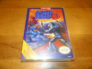 Custom Plastic Case for Mega Man 3 Nintendo NES