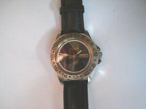 Vintage CITIZEN 1980's Automatic Mens Wristwatch Diver/24 Hour Bezel Day/Date