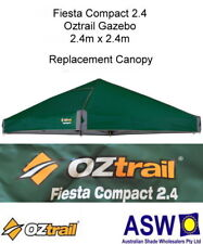 2.4m x 2.4m GREEN Gazebo Replacement Canopy suits OZTRAIL FIESTA COMPACT Frame