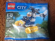 LEGO CITY Mini Set 30311 polybag Swamp Police Helicopter New & Factory Sealed