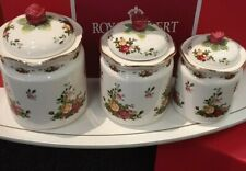 Royal Albert Old Country Roses Canisters Set of 3