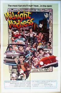 Midnight Madness 1980 Original Walt Disney US One Sheet Poster