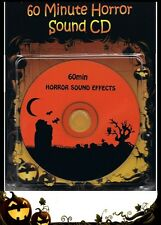 Halloween Party SOUND of HORROR 60 min CD ~ Scary Screams Moans Growls Howls