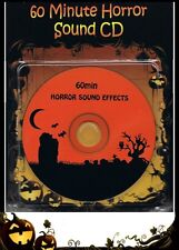 Halloween Party Sound of Horror 60 Min CD Scary Screams Moans Growls Howls