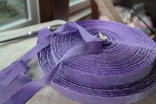 "1 yard vintage purple lavender velvet 7/8"" rayon ribbon trim Millinery dress"