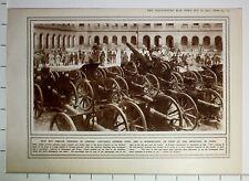 1915i Guerra Mundial WW1 Estampado Capturado Alemán Armas En París & Reflector