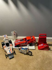 Vintage 1974 IDEAL TOY Evel Knievel LOT