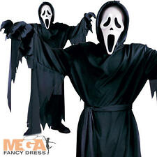 Kids Scream Halloween Boys Fancy Dress Childrens Childs Horror Movie Costume New