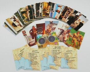 The Young Indiana Jones Chronicles TV Complete Trading Cards Set 1992 NEAR MINT