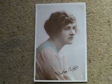 ROTARY REAL PHOTO.POSTCARD. GLADYS COOPER, SIGNED. POSTED 23.7.1918