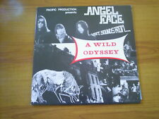 ANGEL FACE A wild odyssey FRENCH LP 1985 NUMBERED RECORDED 1975/77 GREAT!!!!!