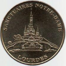 MEDAILLE TOURISTIQUE MONNAIE DE PARIS (SANS DIFF)-SANCTUAIRE NOTRE-DAME LOURDES
