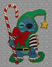 Stitch as Elf Proof Series Pin Jumbo - Disney Shopping Pin LE 500