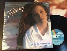 "TIFFANY - - HOLD AN OLD FRIEND'S HAND - - Rare 1988 Australian 12"" LP w/ Inner"