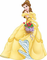 Beauty and the Beast Belle / Disney Princess / Vinyl Kids Room Wall Mural Decal