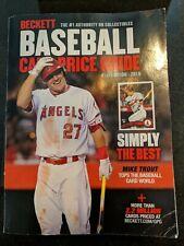 Beckett Price Guide 2019 Baseball Card